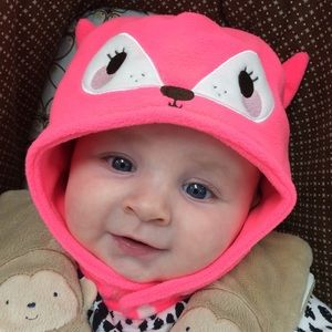 Other - Infant fox winter hat